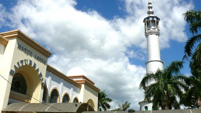 Masjid Agung Baiturrahim Gorontalo