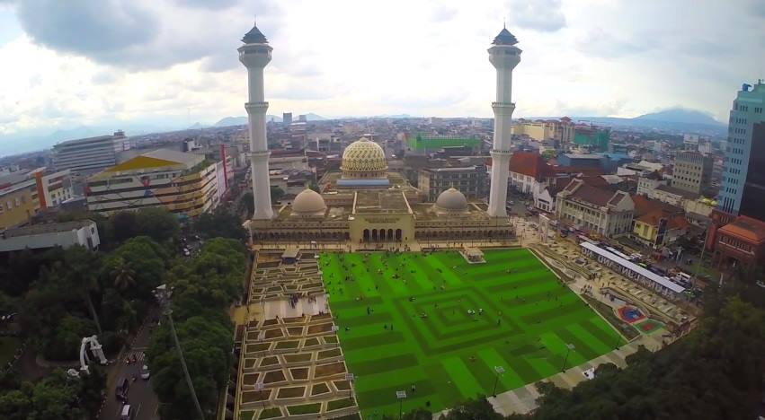 Masjid Raya Bandung Ikon Baru Bandung